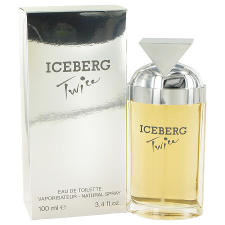 ICEBERG TWICE by Iceberg for Women Eau De Toilette Spray 3.4 oz