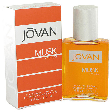 JOVAN MUSK by Jovan for Men After Shave/Cologne 4 oz