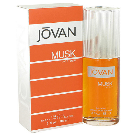 JOVAN MUSK by Jovan for Men Cologne Spray 3 oz