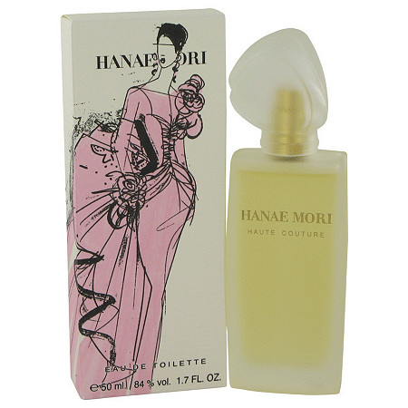 Hanae Mori Haute Couture by Hanae Mori for Women Eau De Toilette Spray 1.7 oz