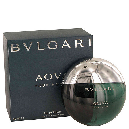 AQUA POUR HOMME by Bulgari for Men Eau De Toilette Spray 1.7 oz