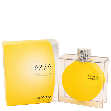 AURA by Jacomo for Women Eau De Toilette Spray 2.4 oz