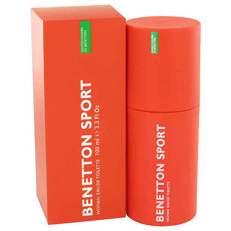 BENETTON SPORT by Benetton for Women Eau De Toilette Spray 3.3 oz