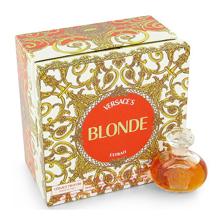BLONDE by Versace for Women Pure Perfume 1/2 oz