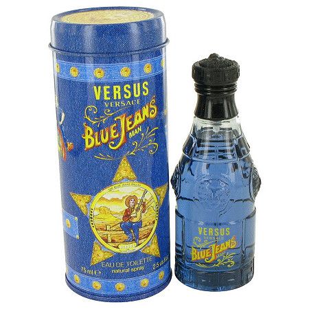 BLUE JEANS by Versace for Men Eau De Toilette Spray 2.5 oz