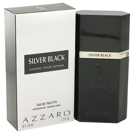 Silver Black by Loris Azzaro for Men Eau De Toilette Spray 1.7 oz