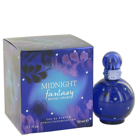 Fantasy Midnight by Britney Spears for Women Eau De Parfum Spray 1.7 oz