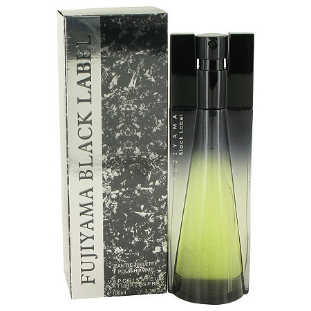 Fujiyama Black Label by Succes De Paris for Men Eau De Toilette Spray 3.4 oz