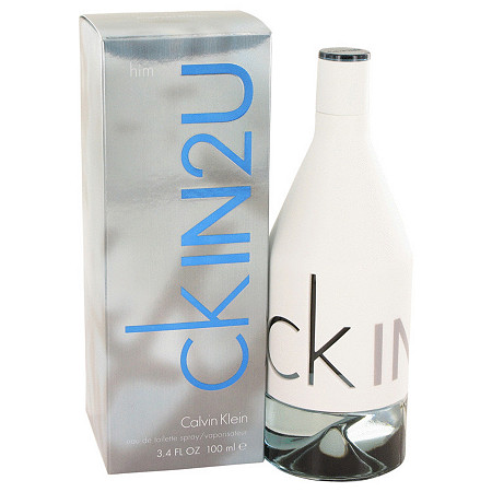 CK In 2U by Calvin Klein for Men Eau De Toilette Spray 3.4 oz