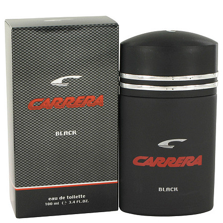 Carrera Black by Muelhens for Men Eau De Toilette Spray 3.4 oz