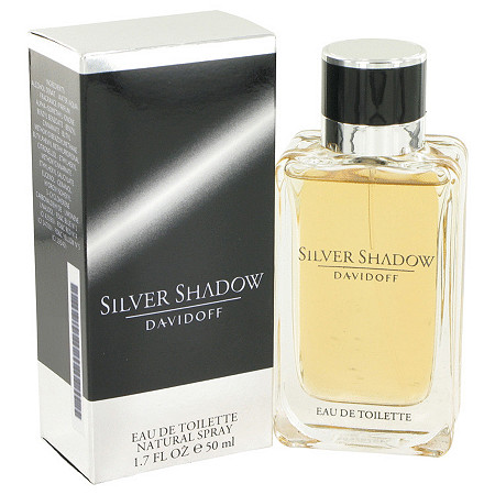 Silver Shadow by Davidoff for Men Eau De Toilette Spray 1.7 oz