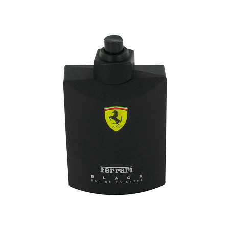 FERRARI BLACK by Ferrari for Men Eau De Toilette Spray (Tester) 4.2 oz
