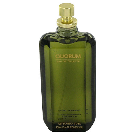 QUORUM by Antonio Puig for Men Eau De Toilette Spray (Tester) 3.4 oz
