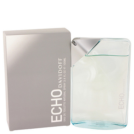 Echo by Davidoff for Men Eau De Toilette Spray 3.3 oz