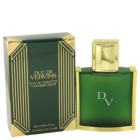 DUC DE VERVINS by Houbigant for Men Eau De Toilette Spray 4 oz