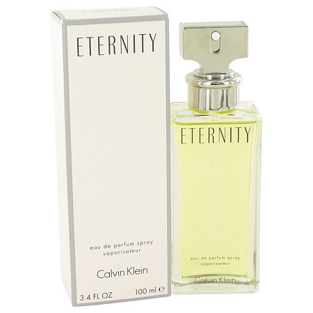ETERNITY by Calvin Klein for Women Eau De Parfum Spray 3.4 oz