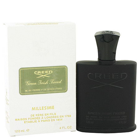 GREEN IRISH TWEED by Creed for Men Millesime Spray 4 oz
