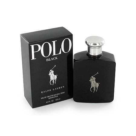 Polo Black by Ralph Lauren for Men Eau De Toilette Spray 2.5 oz
