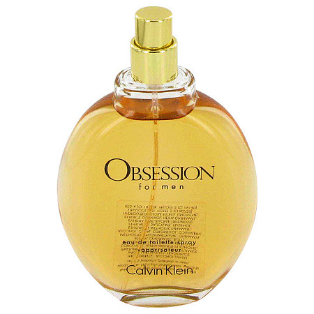 OBSESSION by Calvin Klein for Men Eau De Toilette Spray (Tester) 4 oz