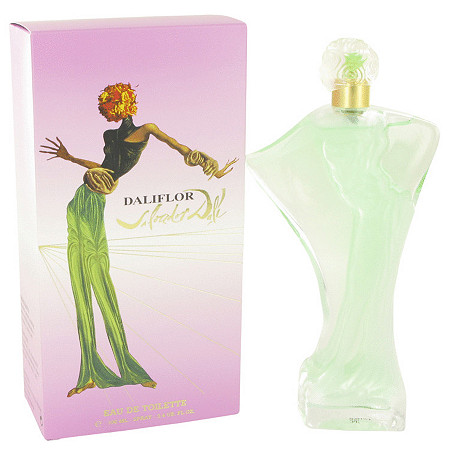 DALIFLOR by Salvador Dali for Women Eau De Toilette Spray 3.4 oz