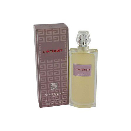 L'interdit by Givenchy for Women Eau De Toilette Spray (New Packaging) 3.3 oz