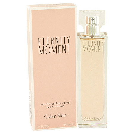 Eternity Moment by Calvin Klein for Women Eau De Parfum Spray 1.7 oz