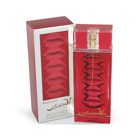 Ruby Lips by Salvador Dali for Women Eau De Toilette Spray 1.7 oz