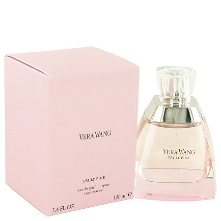 Vera Wang Truly Pink by Vera Wang for Women Eau De Parfum Spray 3.4 oz