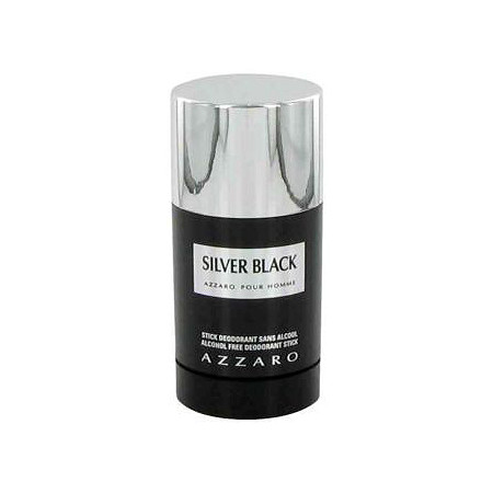 Silver Black by Loris Azzaro for Men Deodorant Stick 2.5 oz