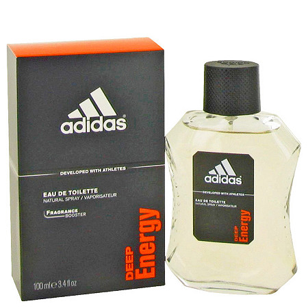 Adidas Deep Energy by Adidas for Men Eau De Toilette Spray 3.4 oz