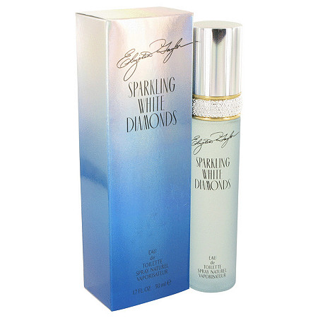 Sparkling White Diamonds by Elizabeth Taylor for Women Eau De Toilette Spray 1.7 oz