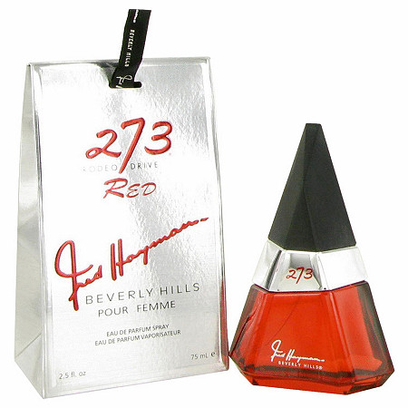 273 Red by Fred Hayman for Women Eau De Parfum Spray 2.5 oz