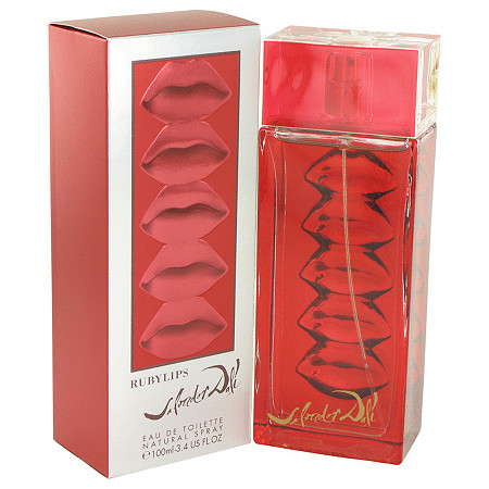 Ruby Lips by Salvador Dali for Women Eau De Toilette Spray 3.3 oz