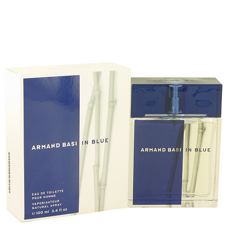 Armand Basi In Blue by Armand Basi for Men Eau De Toilette Spray 3.4 oz