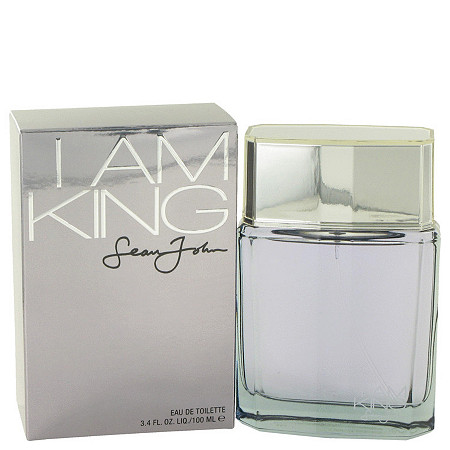I Am King by Sean John for Men Eau De Toilette Spray 3.4 oz