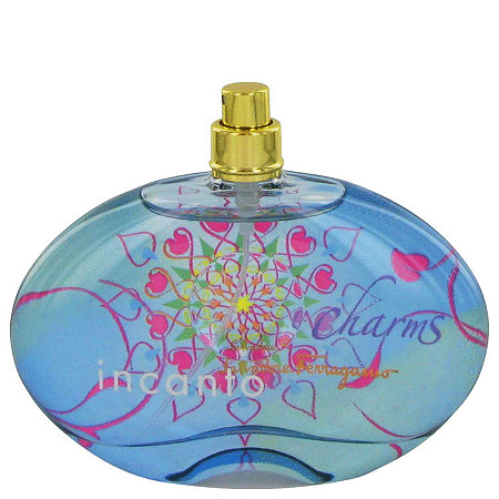 Incanto Charms by Salvatore Ferragamo for Women Eau De Toilette Spray (Tester) 3.4 oz