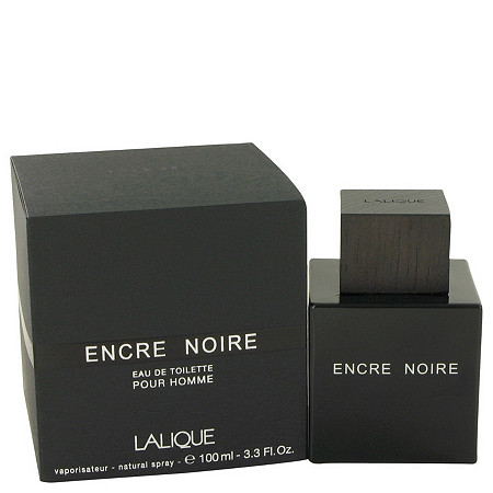 Encre Noire by Lalique for Men Eau De Toilette Spray 3.4 oz