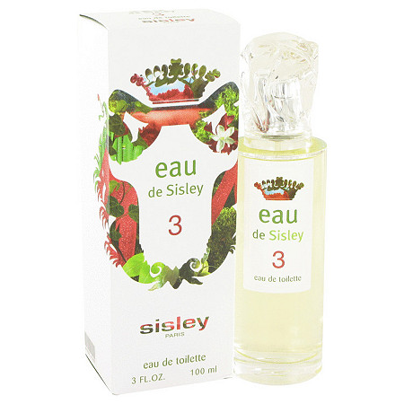 Eau De Sisley 3 by Sisley for Women Eau De Toilette Spray 3 oz