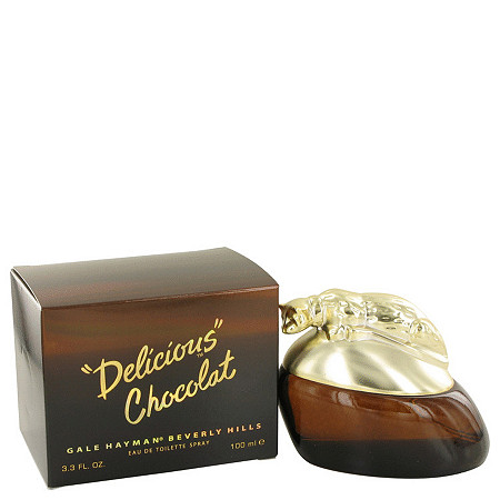 Delicious Chocolat by Gale Hayman for Men Eau De Toilette Spray 3.3 oz