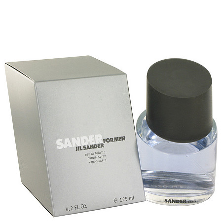 Sander by Jil Sander for Men Eau De Toilette Spray 4.2 oz