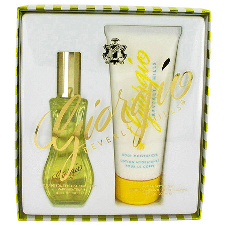 GIORGIO by Giorgio Beverly Hills for Women Gift Set -- 3 oz Eau De Toilette Spray + 6.8 oz Body Lotion