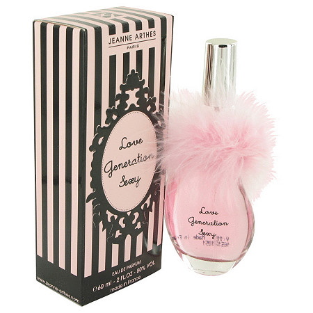 Love Generation Sexy by Jeanne Arthes for Women Eau De Parfum Spray 2 oz