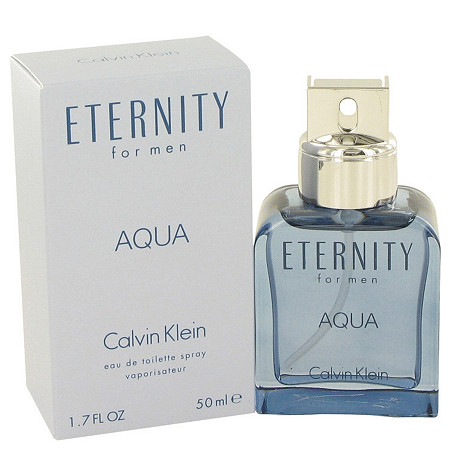 Eternity Aqua by Calvin Klein for Men Eau De Toilette Spray 1.7 oz