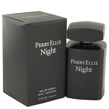 Perry Ellis Night by Perry Ellis for Men Eau De Toilette Spray 3.4 oz