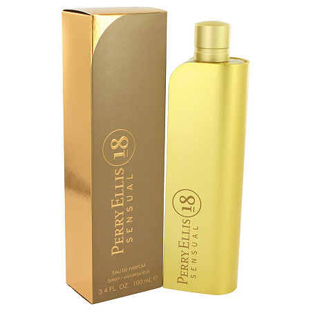Perry Ellis 18 Sensual by Perry Ellis for Women Eau De Parfum Spray 3.4 oz