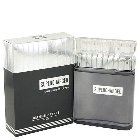 Supercharged by Jeanne Arthes for Men Eau De Toilette Spray 3.3 oz