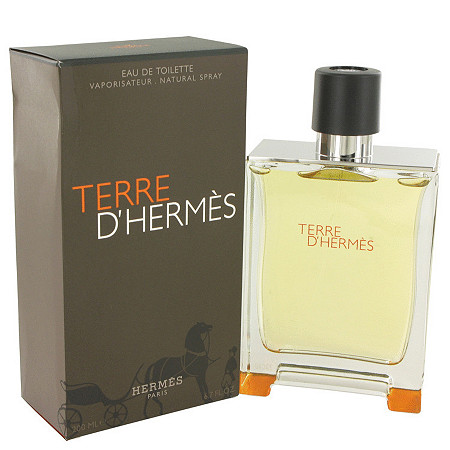 Terre D'Hermes by Hermes for Men Eau De Toilette Spray 6.7 oz