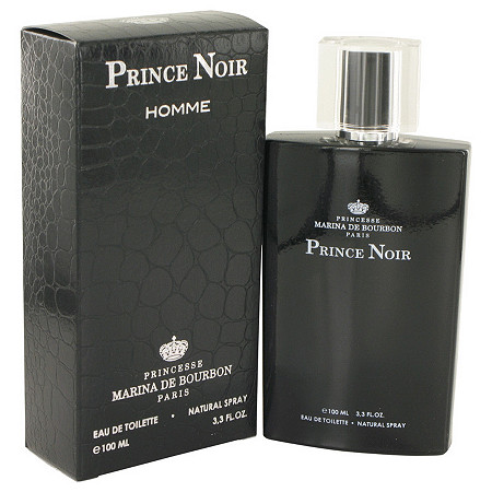 Prince Noir by Marina De Bourbon for Men Eau De Toilette Spray 3.3 oz