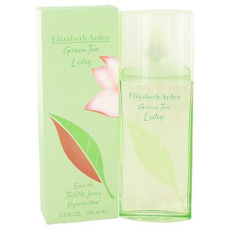 Green Tea Lotus by Elizabeth Arden for Women Eau De Toilette Spray 3.3 oz