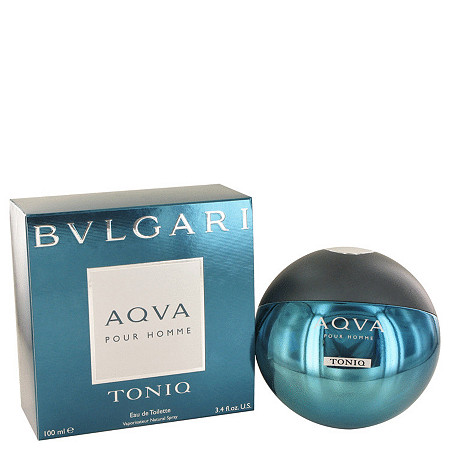 Bvlgari Aqua Tonic by Bvlgari for Men Eau De Toilette Spray 3.4 oz